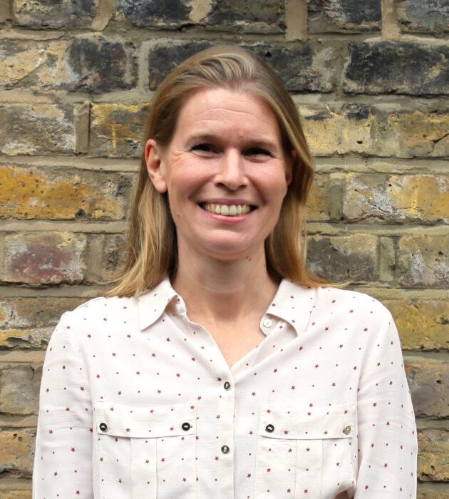 Photo portrait of Alexia Quin OBE
